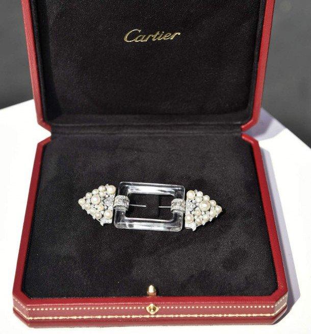 broche de ceinture Cartier