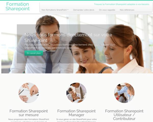 Votre formation SharePoint en ligne