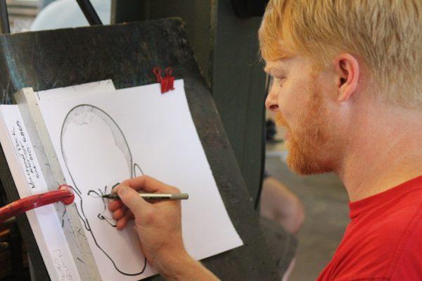 Une animation hors norme avec les caricaturistes