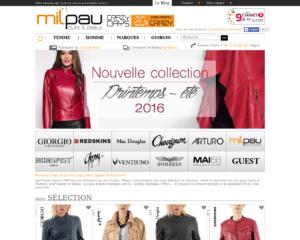 Un large choix de vestes en cuir pour les hommes et les femmes
