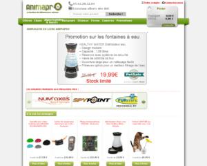 Boutique en ligne Animapro : tout pour vos animaux