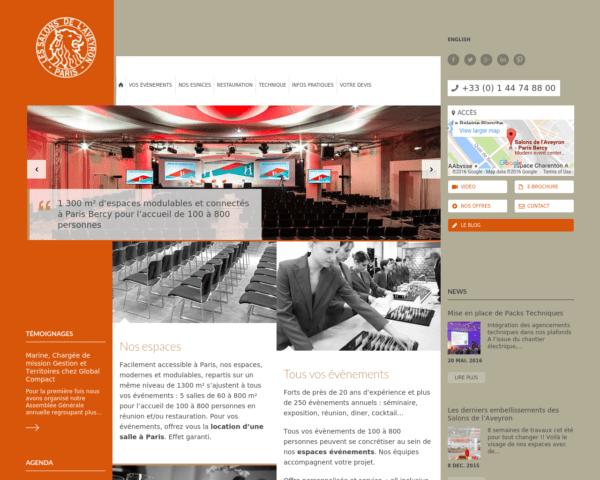 Un lieu original pour un événement à Paris : les Salons de l'Aveyron
